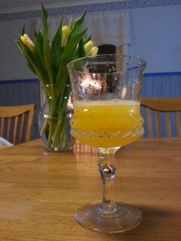 nypressad apelsinjuice